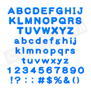 アルファベット・数字 Alphabets and Numbers